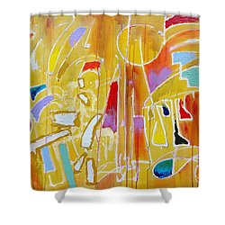 Candy Shop Garnish Shower Curtain by Jason Williamson