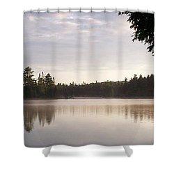 Canisbay Lake - Panorama Shower Curtain