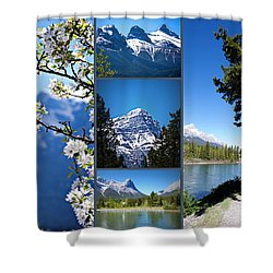 Canmore Alberta Shower Curtain
