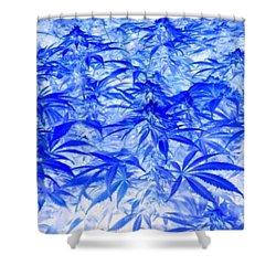 Canna Ether 1 Shower Curtain