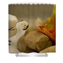 Cannibalism Is Sweet Shower Curtain by Heather Applegate