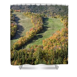 Cannon Mountain - White Mountains New Hanpshire Shower Curtain by Erin Paul Donovan