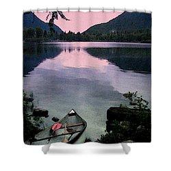 Canoe Day Shower Curtain
