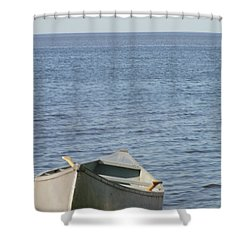 Shower Curtain featuring the photograph Canoe by Tiffany Erdman