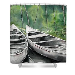 Canoes To Go Shower Curtain