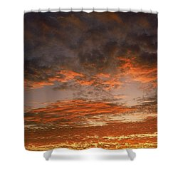 Canvas Sky Shower Curtain