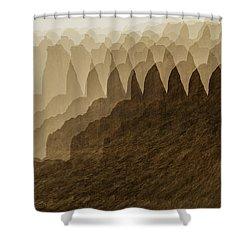 Canyon Dreams Shower Curtain