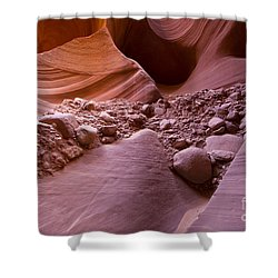 Canyon Rocks In Abundance  Shower Curtain
