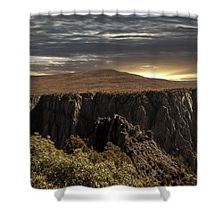Canyon Twilight Shower Curtain
