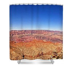 Canyon View Shower Curtain by Dave Files