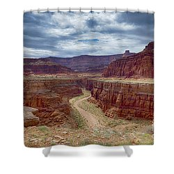 Shower Curtain featuring the photograph Canyonlands by Juergen Klust