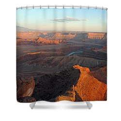 Shower Curtain featuring the photograph Canyonlands Np Dead Horse Point 21 by Jeff Brunton