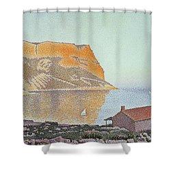 Cap Canaille Shower Curtain by Paul Signac