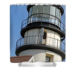 Shower Curtain featuring the photograph Cape Cod Lighthouse by Ira Shander