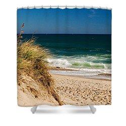 Cape Cod Massachusetts Beach Shower Curtain