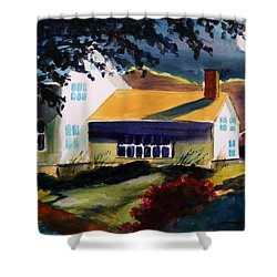 Cape Cod Moon Shower Curtain by John Williams