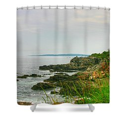 Cape Elizabeth Maine Shower Curtain