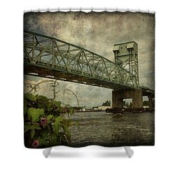 Cape Fear Morning Glory Shower Curtain by Dorian Hill
