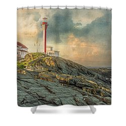 Cape Forchu  Shower Curtain