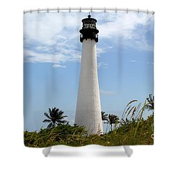 Cape Forida Shower Curtain by Carey Chen