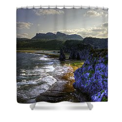 Cape Hedo Hdr Shower Curtain