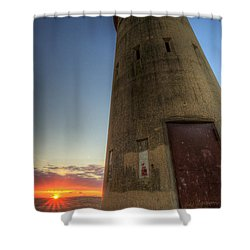 Cape Henlopen Tower Shower Curtain