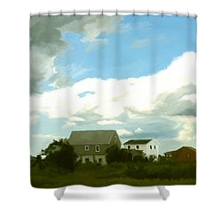 Cape House Shower Curtain by Paul Tagliamonte