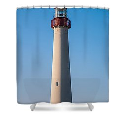 Cape May Lighthouse Shower Curtain by Jennifer Ancker