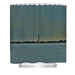 Cape May Point Shower Curtain by Ed Sweeney