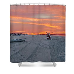 Cape May Seascape Shower Curtain