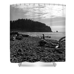 Cape Meares Shower Curtain