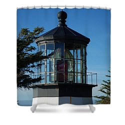 Cape Meares Lighthouse Shower Curtain