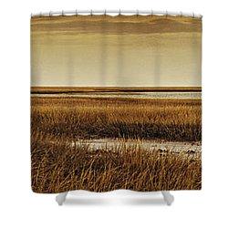 Cape Romaine Shower Curtain by Bruce Bain