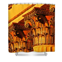 Shower Curtain featuring the photograph Capitals by Christopher Woods