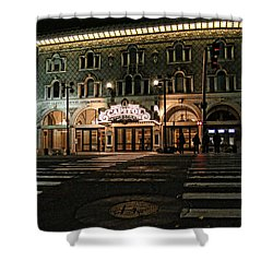 Shower Curtain featuring the photograph Capitol Theatre by Ely Arsha
