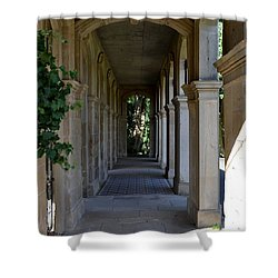 Captain Cook Museum Walkway Shower Curtain