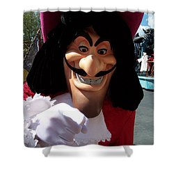 Captain Hook Shower Curtain