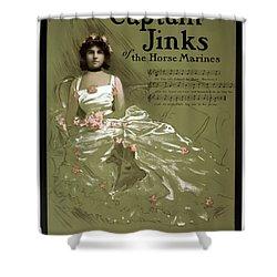Captain Jinks Shower Curtain