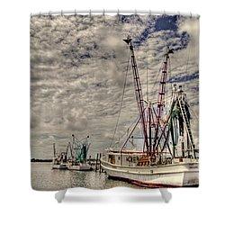 Captain Phillips Shower Curtain by Benanne Stiens