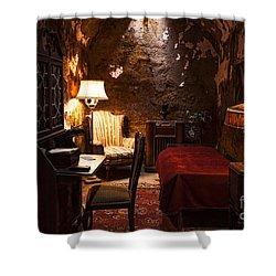 Captive Luxury Shower Curtain by Andrew Paranavitana