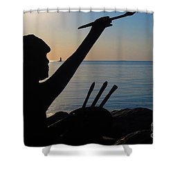 Capturing  New Castle Shower Curtain