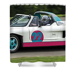 Car No. 22 - 02 Shower Curtain