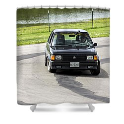 Car No. 76 - 02 Shower Curtain