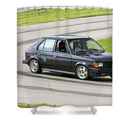 Car No. 76 - 03 Shower Curtain