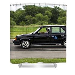 Car No. 76 - 06 Shower Curtain
