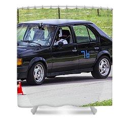 Car No. 76 - 07 Shower Curtain