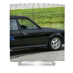 Car No. 76 - 08 Shower Curtain
