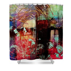 Carbon Footprints Shower Curtain