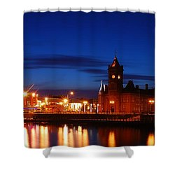 Cardiff Bay Shower Curtain