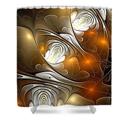 Shower Curtain featuring the digital art Carefree by Anastasiya Malakhova